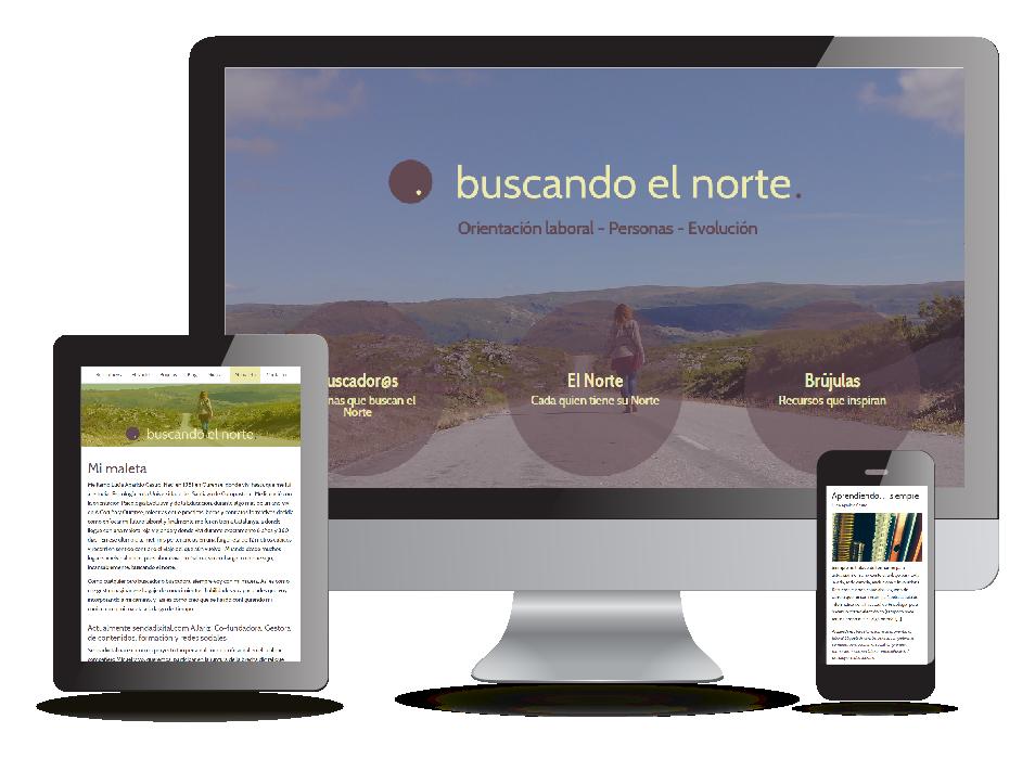 Proyecto Buscando el norte de Sendadixital