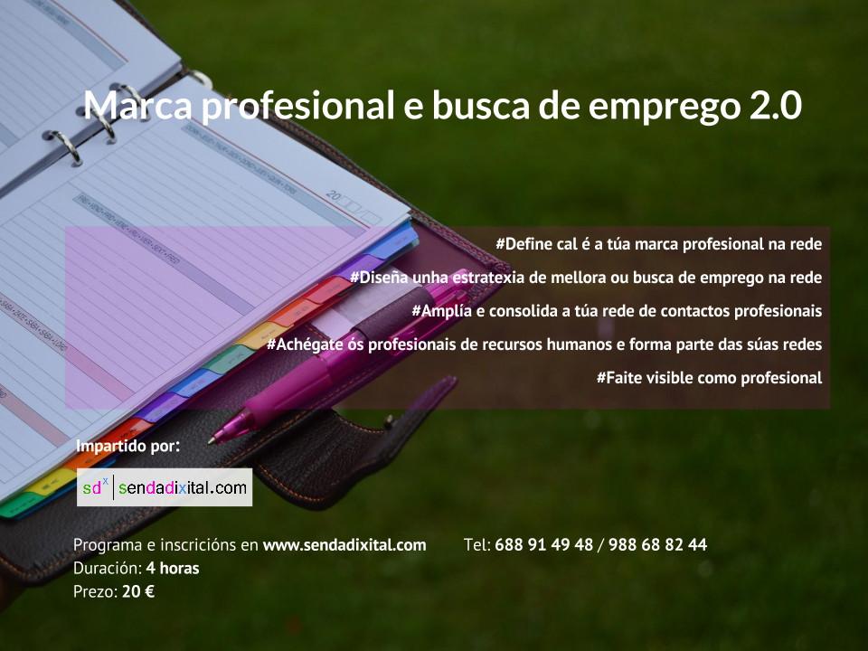 Marca profesional y búsqueda de empleo 2.0