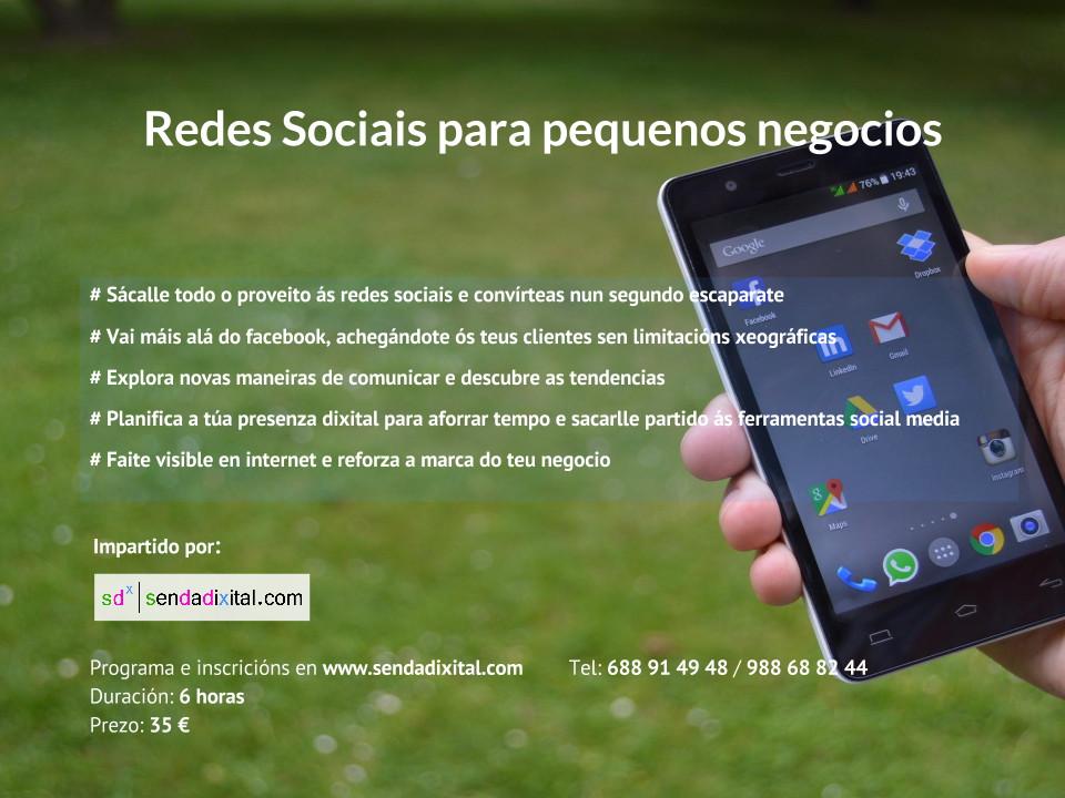 Redes sociales para pequeños negocios