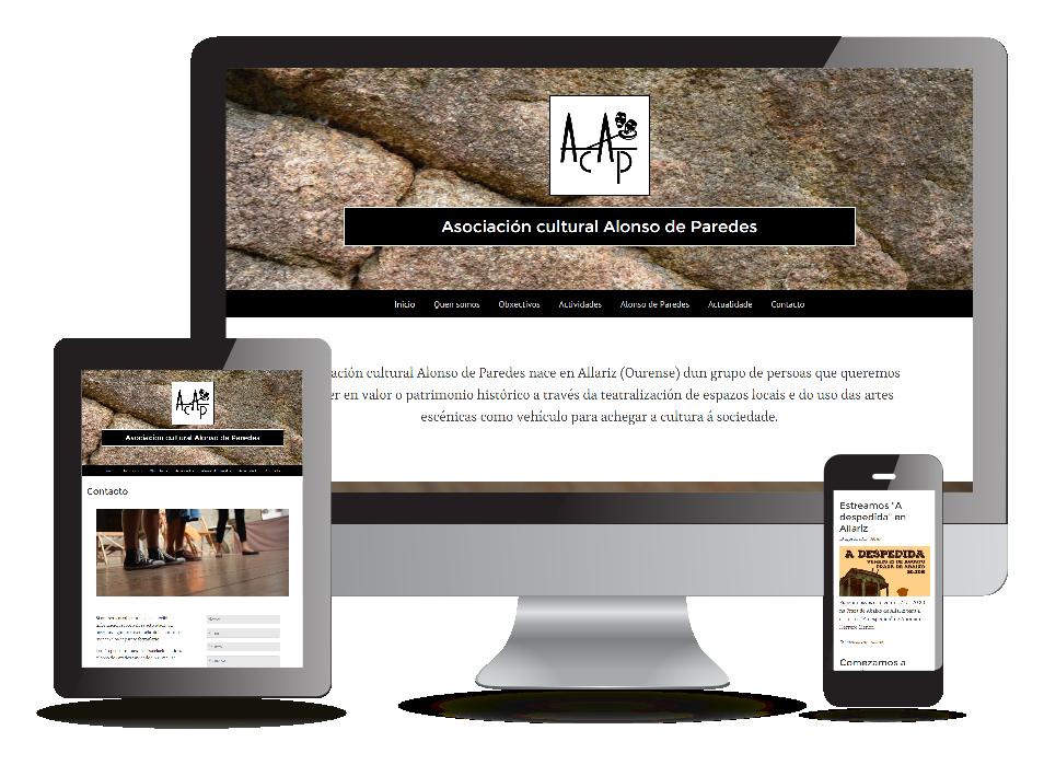Página web ACAP - Sendadixital