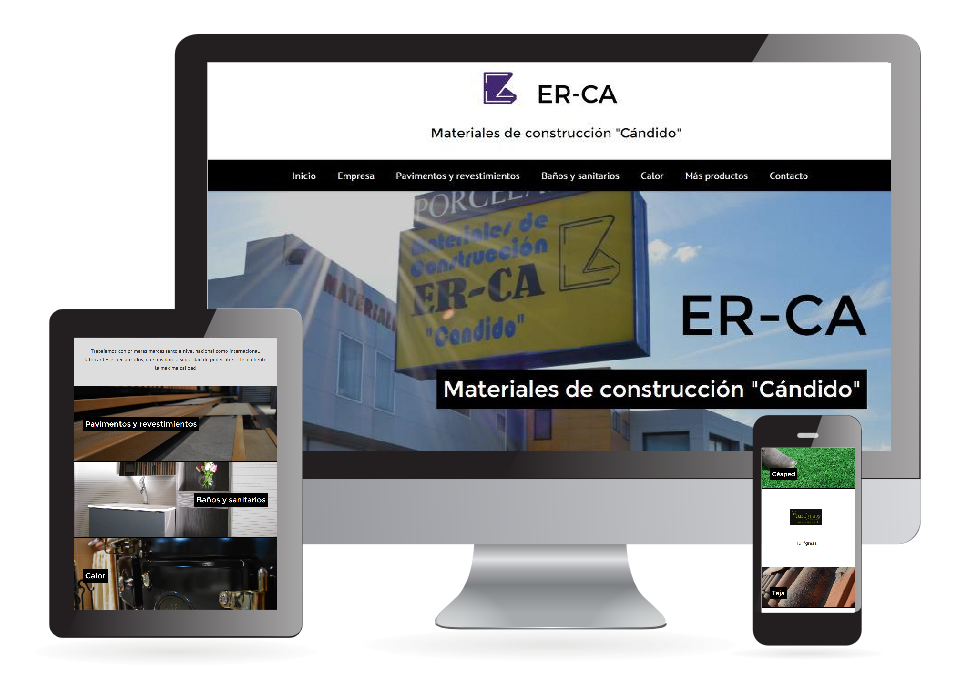 Página web ER-CA - Sendadixital