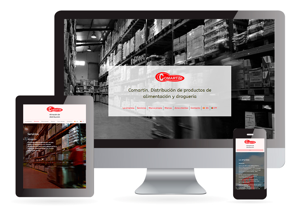 Proyecto web Comartin