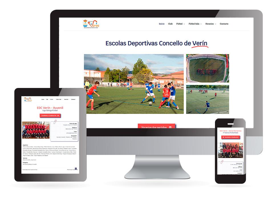 Escolas deportivas do Concello de Verín